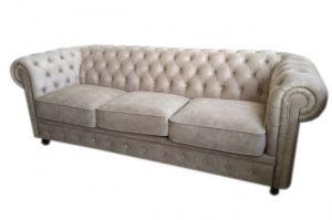 Светлый диван в стиле Честер - Мебельная фабрика «Ритм»