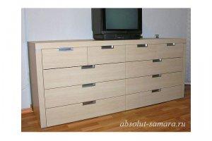 Светлый комод-тумба - Мебельная фабрика «Абсолют»