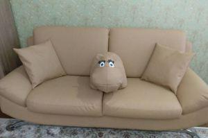Светлый прямой диван - Мебельная фабрика «Элит-диван»