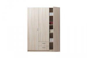 Светлый распашной шкаф - Мебельная фабрика «Мебель Шик»