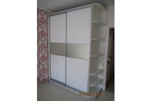 Светлый шкаф-купе в спальню - Мебельная фабрика «Стрела»