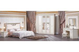 Светлый спальный гарнитур Берта - Мебельная фабрика «Арида»
