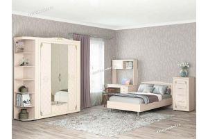 Светлый спальный гарнитур Версаль - Мебельная фабрика «Витра»