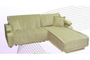 Светлый угловой диван Виктория  - Мебельная фабрика «Аметист-М»