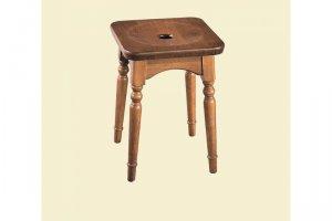 Табурет дубовый с фрезеровкой - Мебельная фабрика «Лорес»