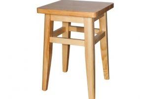 Табурет кухонный из массива дерева - Мебельная фабрика «Упоровская мебельная фабрика»