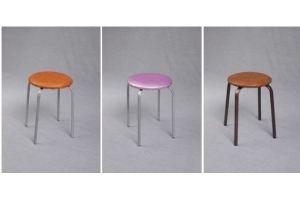 Табурет на металлической опоре - Мебельная фабрика «Фактура-Мебель»