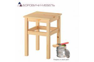 Табурет прямая нога массив - Мебельная фабрика «Боровичи-мебель»