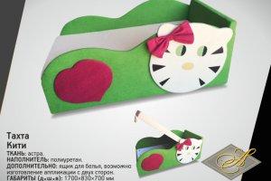 Тахта для девочки Кити - Мебельная фабрика «АСМАНА»