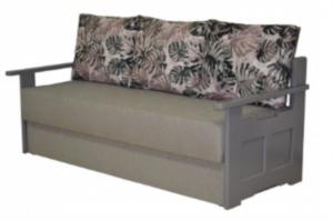 Тахта с деревянными подлокотниками - Мебельная фабрика «Росмебель»
