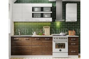Кухня-мини Техно 2 - Мебельная фабрика «МиФ»