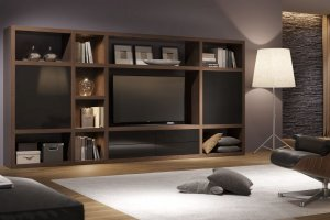 Темная гостиная Haus - Мебельная фабрика «Sofmann»