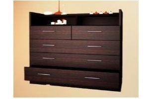 Темный комод 5 - Мебельная фабрика «Алекс-мебель»
