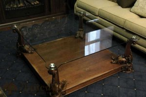 Темный журнальный стол - Мебельная фабрика «Лайс Wood»