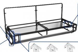 Механизм трансформации Тик-так без лат - Оптовый поставщик комплектующих «Кузнецкий завод мебельной фурнитуры»