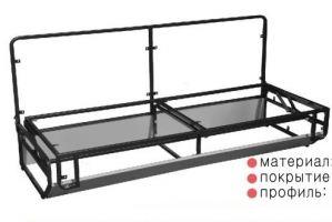 Механизм трансформации Тик-так 614 - Оптовый поставщик комплектующих «Кузнецкий завод мебельной фурнитуры»