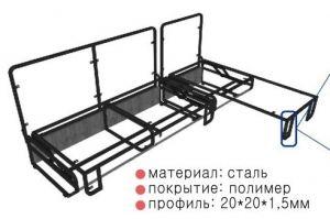 Механизм трансформации Тик-так угол 611 - Оптовый поставщик комплектующих «Кузнецкий завод мебельной фурнитуры»