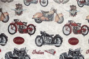 Ткань для мебели Bikes - Оптовый поставщик комплектующих «Касабланка»