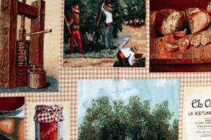 Ткань для мебели Olives - Оптовый поставщик комплектующих «Касабланка»