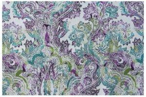 Ткань мебельная First Viola - Оптовый поставщик комплектующих «Мебельные Ткани»