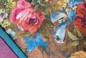 Ткань мебельная Кармен - Оптовый поставщик комплектующих «Калипсо Текстиль»