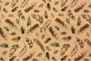 Ткань мебельная Мозайка Перья - Оптовый поставщик комплектующих «Дали»