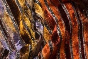 Ткань велюр CASTEL 1 SHERRY STRIPE - Оптовый поставщик комплектующих «ТРИЭС»