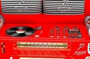 Ткань VINTAGE Avrora red - Оптовый поставщик комплектующих «ТканиМного»