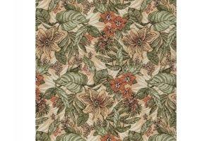 Ткань Жаккард Экзотические Цветы - Оптовый поставщик комплектующих «МТОК»