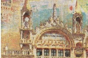 Ткань жаккард печатный  Венеция 1 цвет 3 - Оптовый поставщик комплектующих «Декостеп»