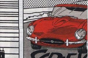 Ткань жаккард печатный  Ягуар цвет 3 - Оптовый поставщик комплектующих «Декостеп»