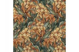 Ткань Жаккард Тропический Рай - Оптовый поставщик комплектующих «МТОК»