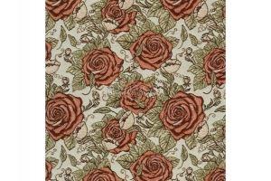Ткань Жаккард Графические Розы - Оптовый поставщик комплектующих «МТОК»