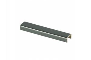 Торцевая заглушка алюминий - Оптовый поставщик комплектующих «Мебельщик»