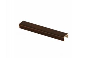 Торцевая заглушка орех темный - Оптовый поставщик комплектующих «Мебельщик»
