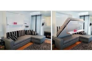 Трансформер угловой диван-шкаф-кровать - Мебельная фабрика «Диван Диваныч»