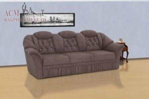 Трехместный диван Даллас 2 БД - Мебельная фабрика «АСМ Элегант»
