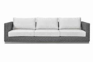 Трехместный диван из ротанга - Мебельная фабрика «ЭвиЛайн»