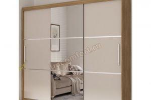 Трехстворчатый шкаф-купе БАСЯ 20 - Мебельная фабрика «Комфорт»