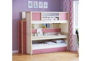 Трехъярусная кровать HAPPY KIDS SMART 2 - Мебельная фабрика «Happy home»