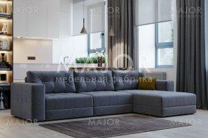 Диван Тренд с оттоманкой (модульная система) - Мебельная фабрика «Мажор»