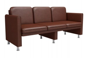 Тройной диван Дипломат ОС - Мебельная фабрика «Наша мебель»