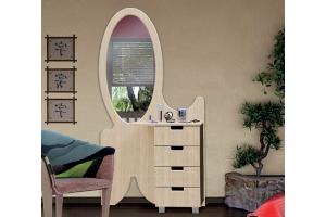 Туалетный стол Диана 3 - Мебельная фабрика «СКИФ»