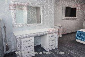 Туалетный столик белый - Мебельная фабрика «Маруся Мебель»