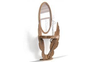 Туалетный столик Мираж из дуба - Мебельная фабрика «Лидер Массив»