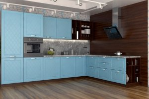 Угловая кухня Тулон - Мебельная фабрика «Алмаз-мебель»