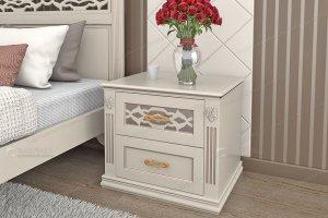 Тумба белая Италия 340 - Мебельная фабрика «Фабрика натуральной мебели»