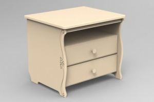 Тумба детская прикроватная Нева 52x42x49 - Мебельная фабрика «Феалта»