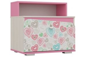 Тумба для детской ТП 20 Алиса - Мебельная фабрика «Ваша мебель»