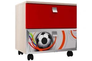 Тумба для детской ТП 22 Футбол - Мебельная фабрика «Ваша мебель»